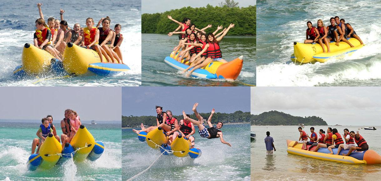 flying banana boat tube