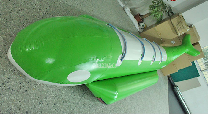 inflatable flying shark