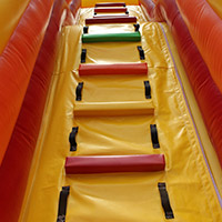 commercial blow up water slide