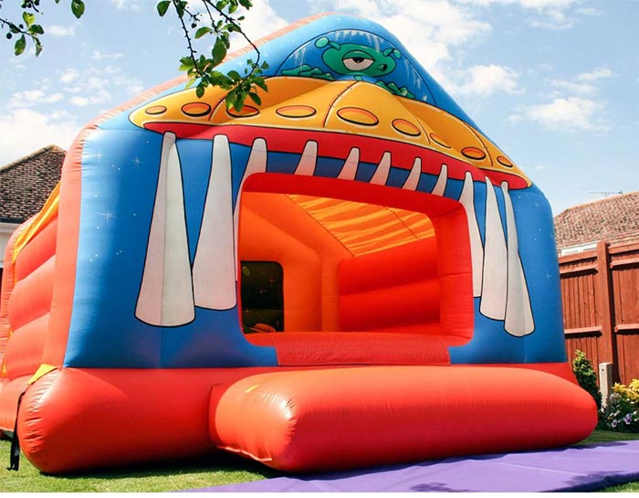 bounce house clearance