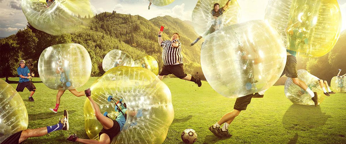 bubble soccer bubbles