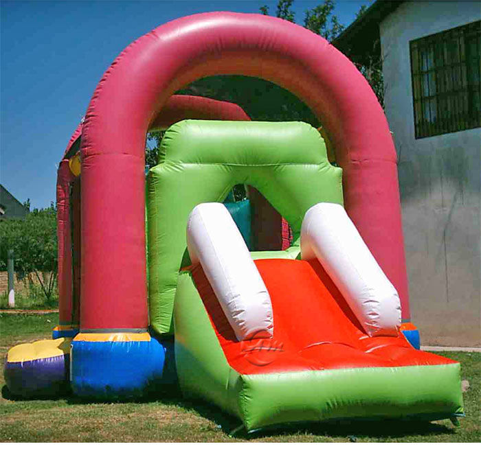 wet and dry bounce house