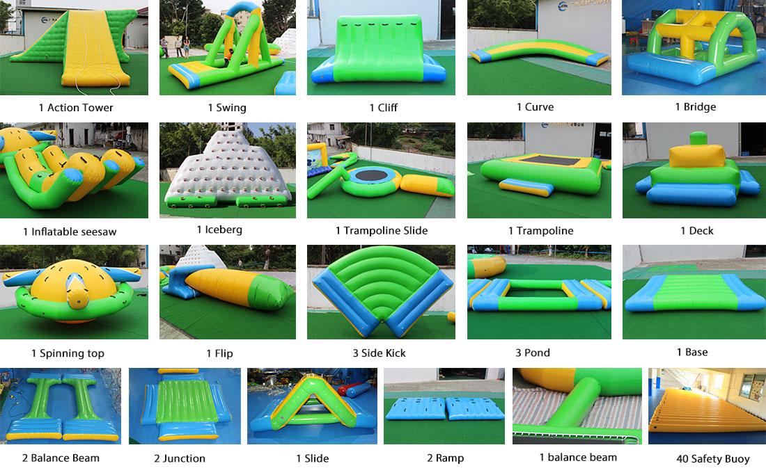 Inflatable Water Park Modular