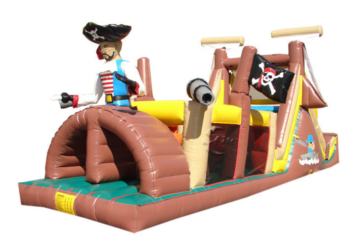 Children's Obstacle Course - Pirate Ship