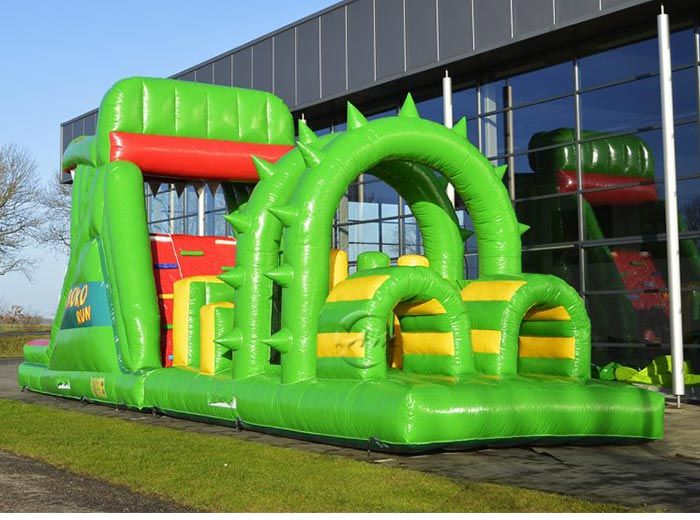 Inflatable Obstacles - Crocodile