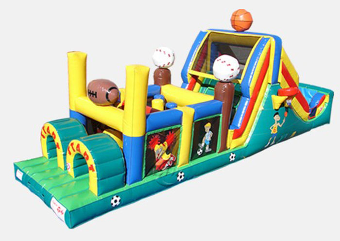 Wipeout Obstacle Course - Sport Theme