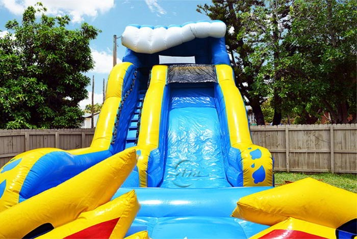 inflatable water slide for adult