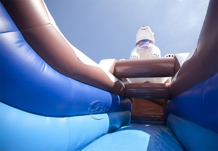 kids blow up water slide