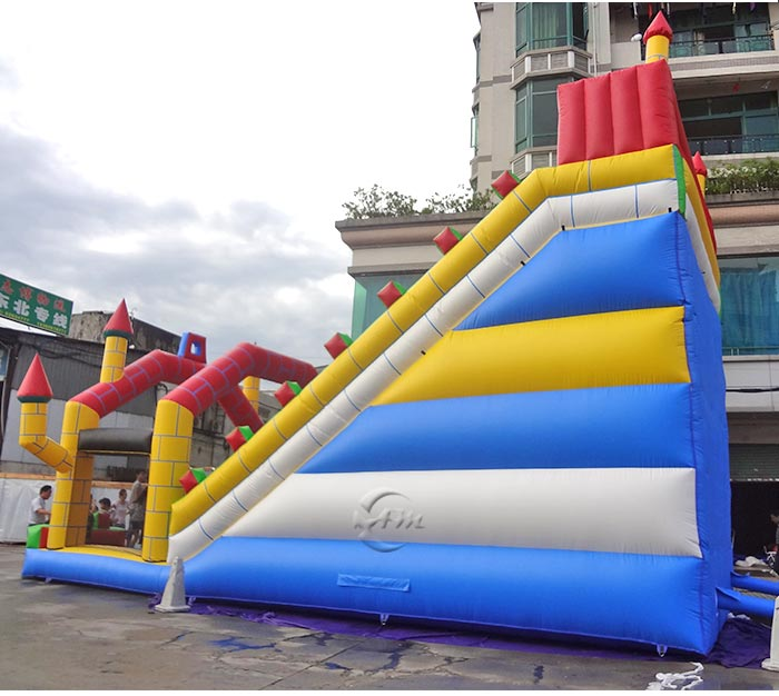 biggest blow up water slide