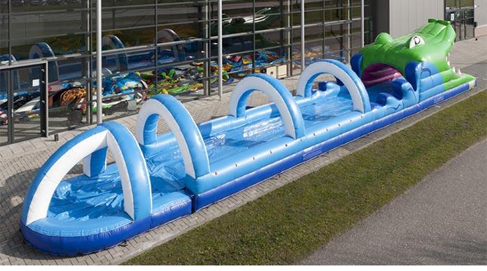 slip and slide water slide