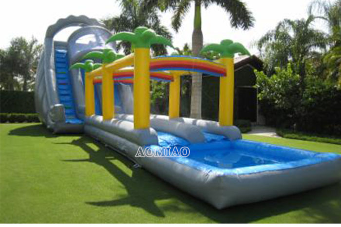 cheap blow up water slides