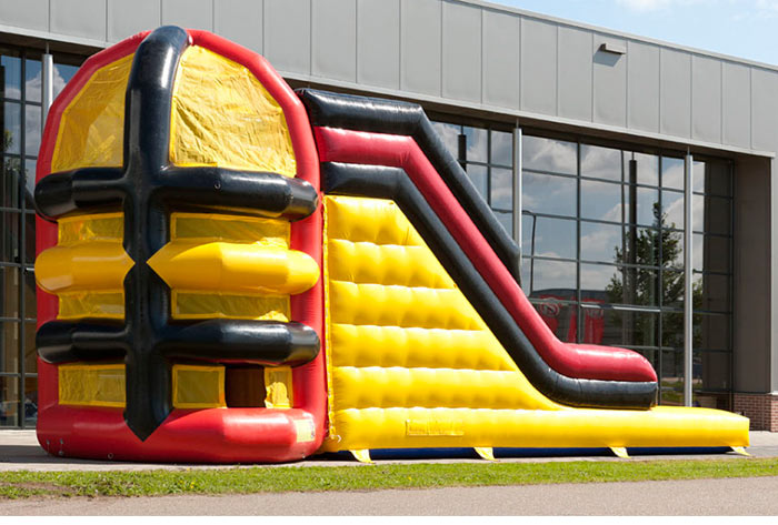 used inflatable water slides for sale