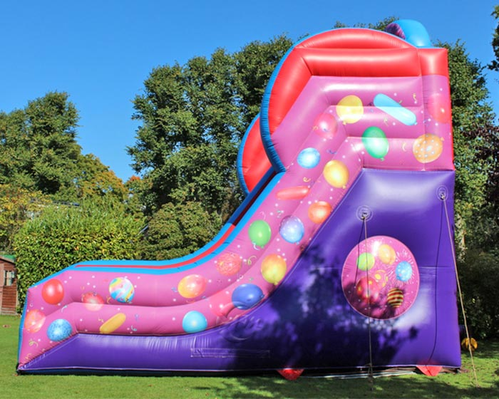 outdoor blow up water slides