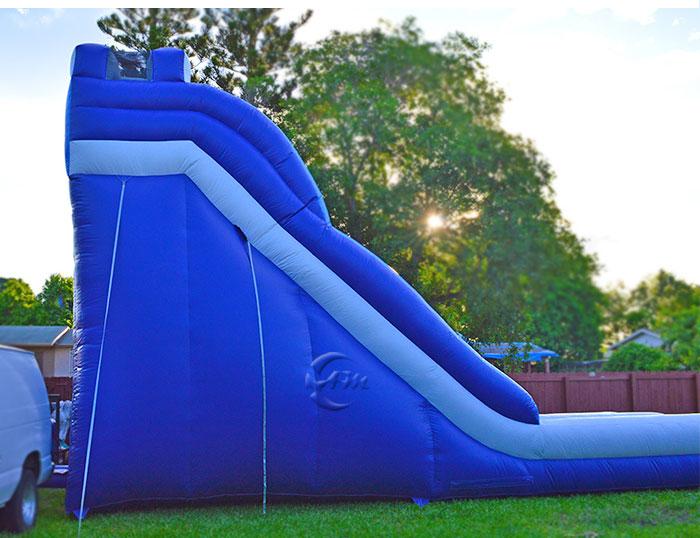 inflatable wet slide