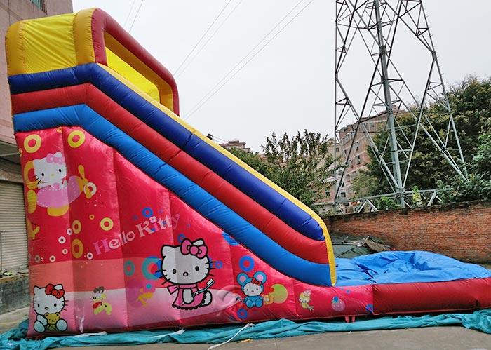 inflatable castle slide