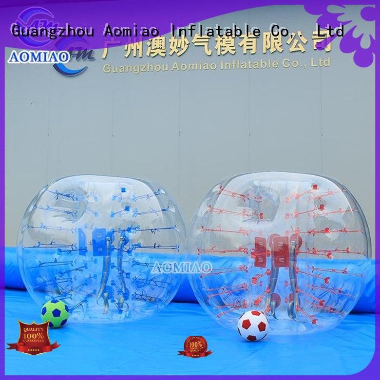bumper half bubble ball inflatable AOMIAO Brand company