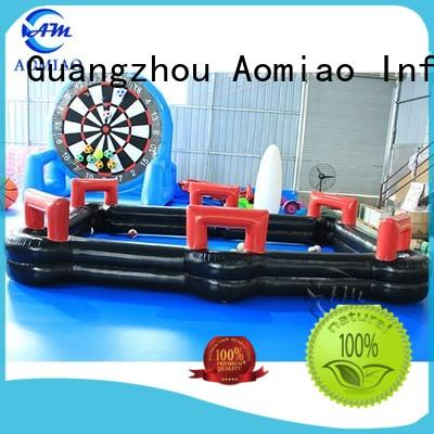 AOMIAO dashing soccer billiards table manufacturer for seaside