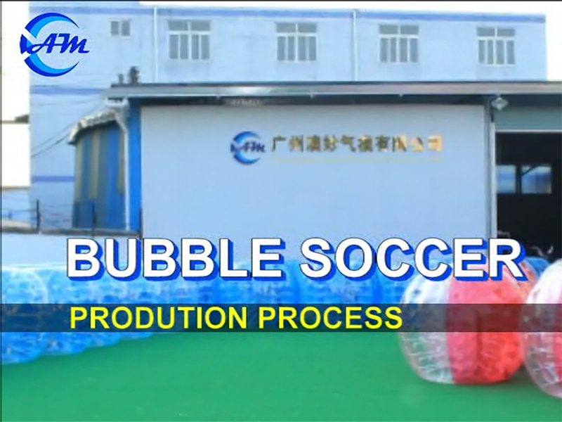 Bubble soccer balls production process