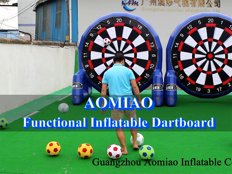 Functional Inflatable Soccer Dart