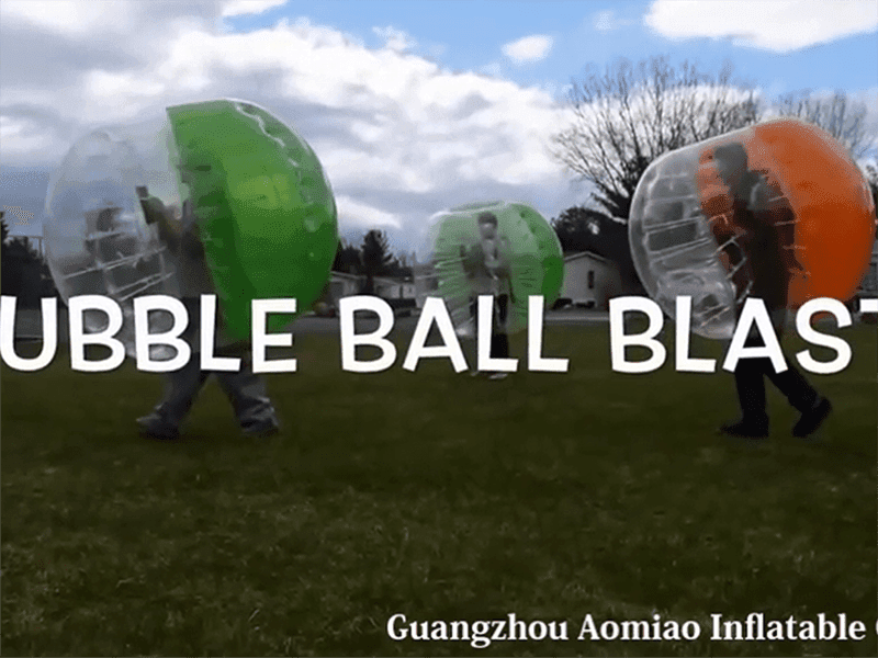 Customer feedback:Bump with our bubble soccer balls