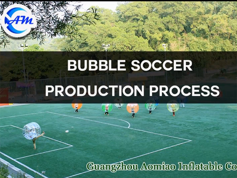 How to produce our bubble soccer balls