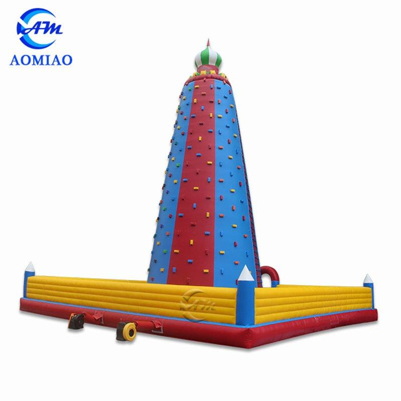 Colorful Rock Climbing Inflatable Wall CL1701