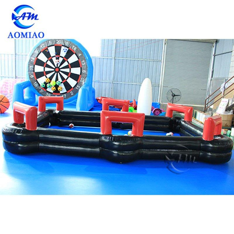 Air-tight Inflatable Pool Table, Football Snooker Table, Soccer Billiards Table For Sale SB1