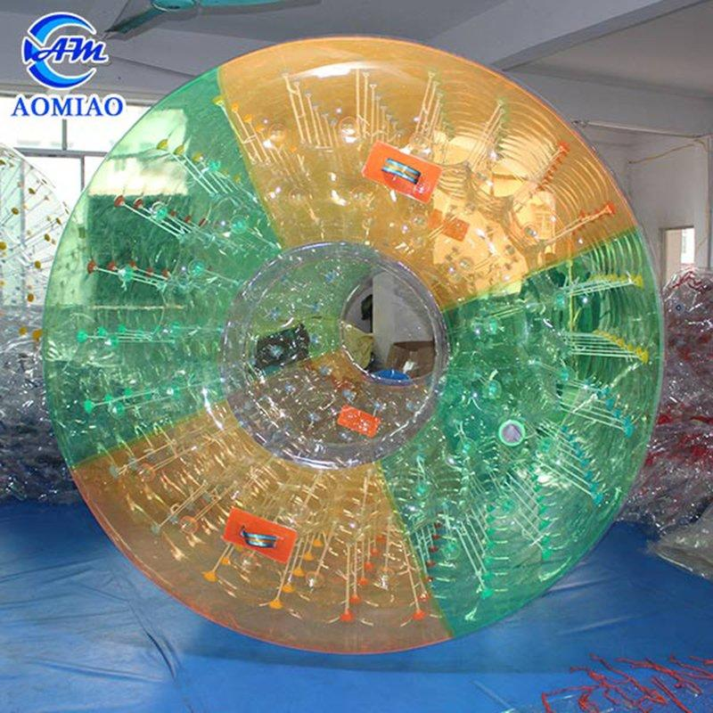 Colorful Dot Zorb Inflatable Roller Ball Human Rolling Ball WR22