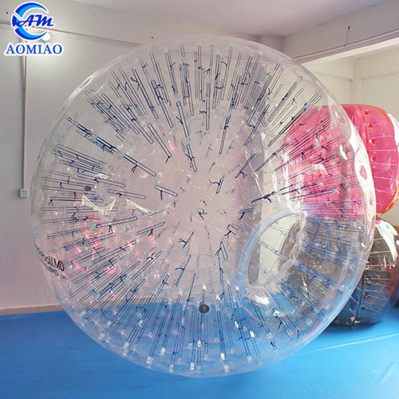 TPU Transparent Aqua Zorbing Human Hamster Ball For Sale ZB12