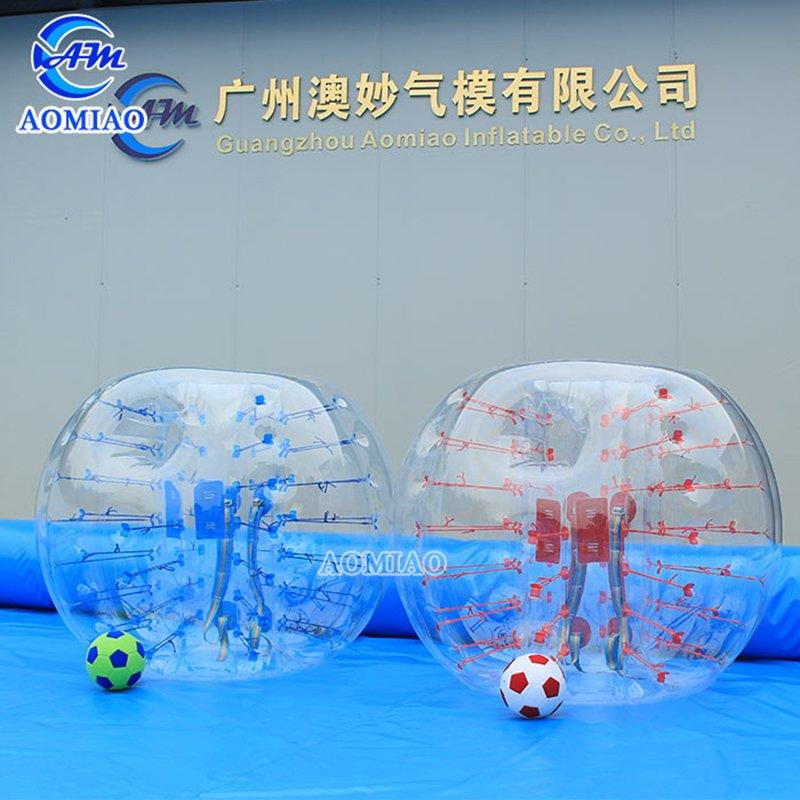 Bubble Soccer Suits With Holes In The Front BS22