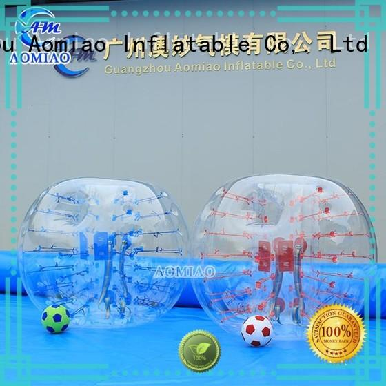 AOMIAO blue bubble suit factory for park