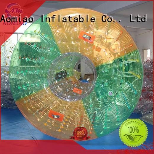 AOMIAO Brand inflatable colorful roller field roller zorb