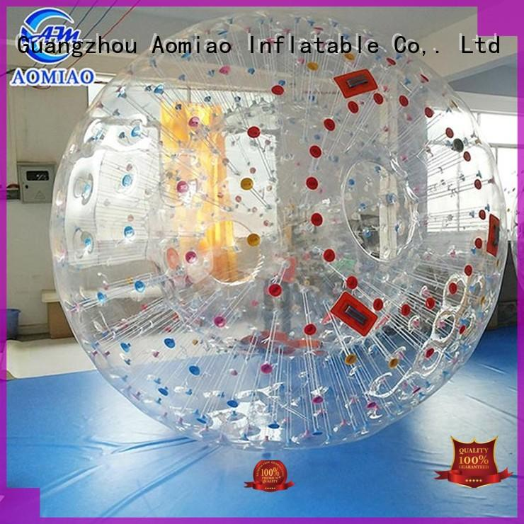 AOMIAO amazing zorb ball customization for theme park
