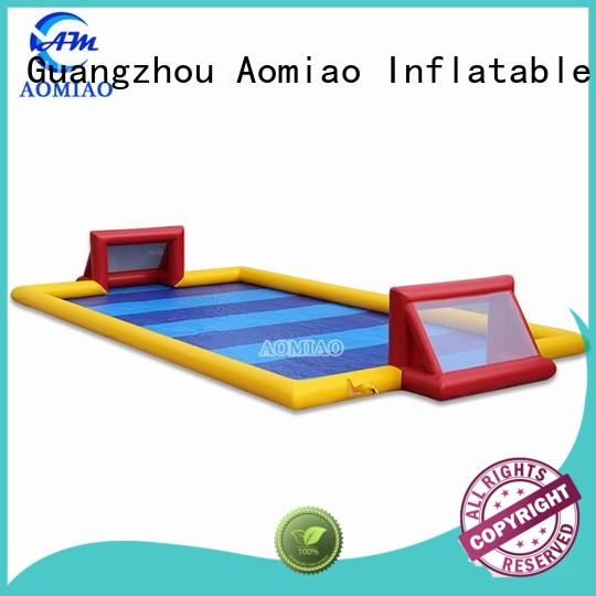 AOMIAO soccer inflatable soccer field supplier for sale