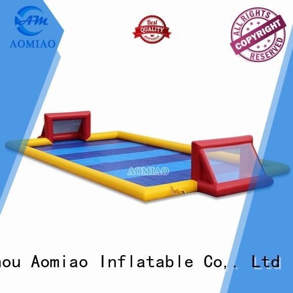AOMIAO ff1704 inflatable football pitch supplier for sale