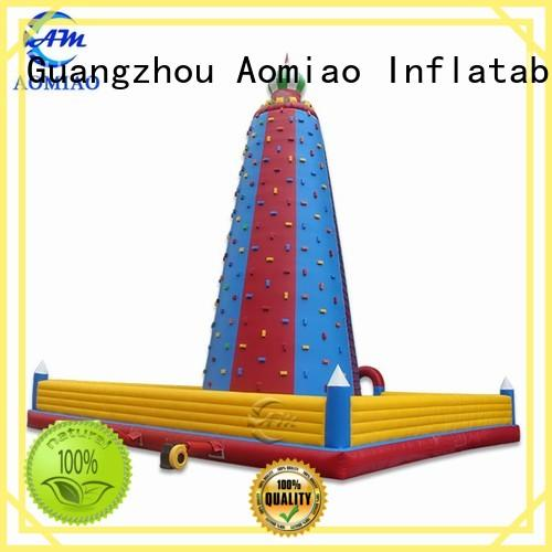 customized inflatable rock wall cl1706 factory for child