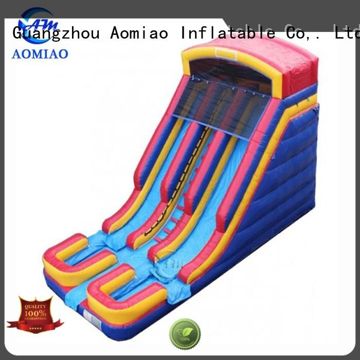 AOMIAO Brand octopus single kids forest inflatable slide