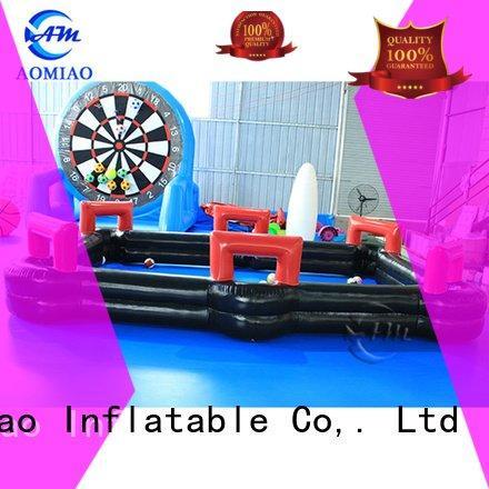 AOMIAO inflatable pool billiards pool football