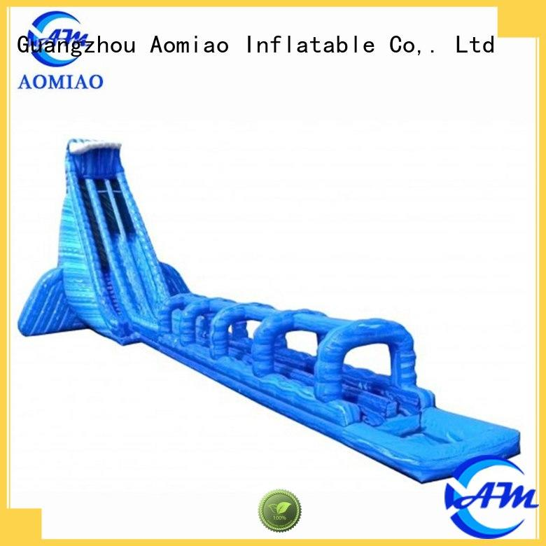 sale big backyard inflatable slide AOMIAO