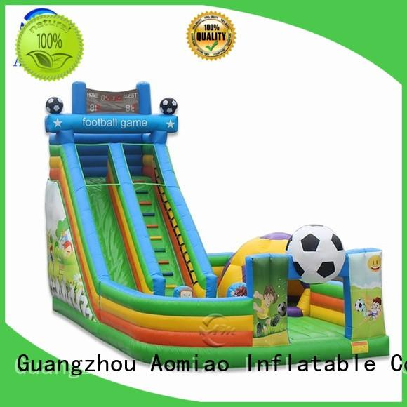 AOMIAO new design pool slide manufacturer for sale