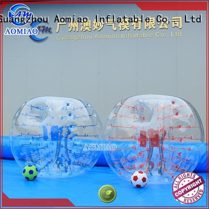 AOMIAO clear bubble ball factory for park