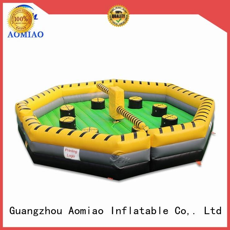 game Custom wipeout meltdown inflatable inflatable AOMIAO