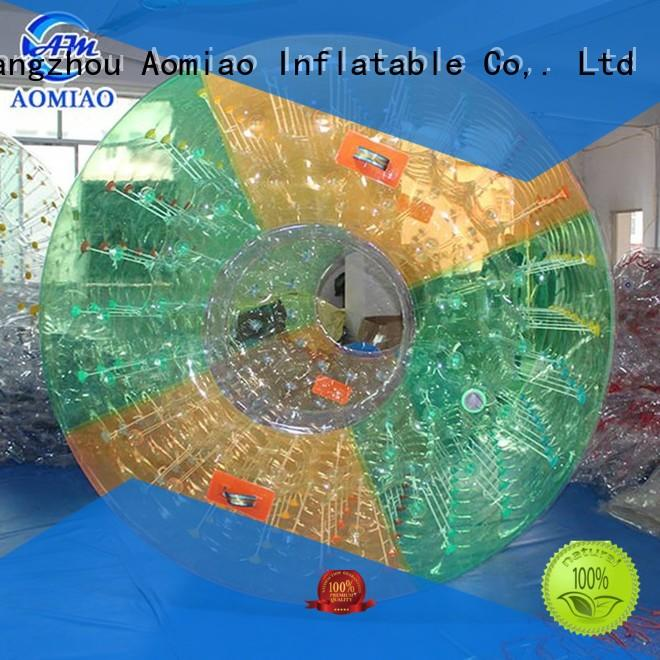 AOMIAO inflatable water rollers for sale factory for park