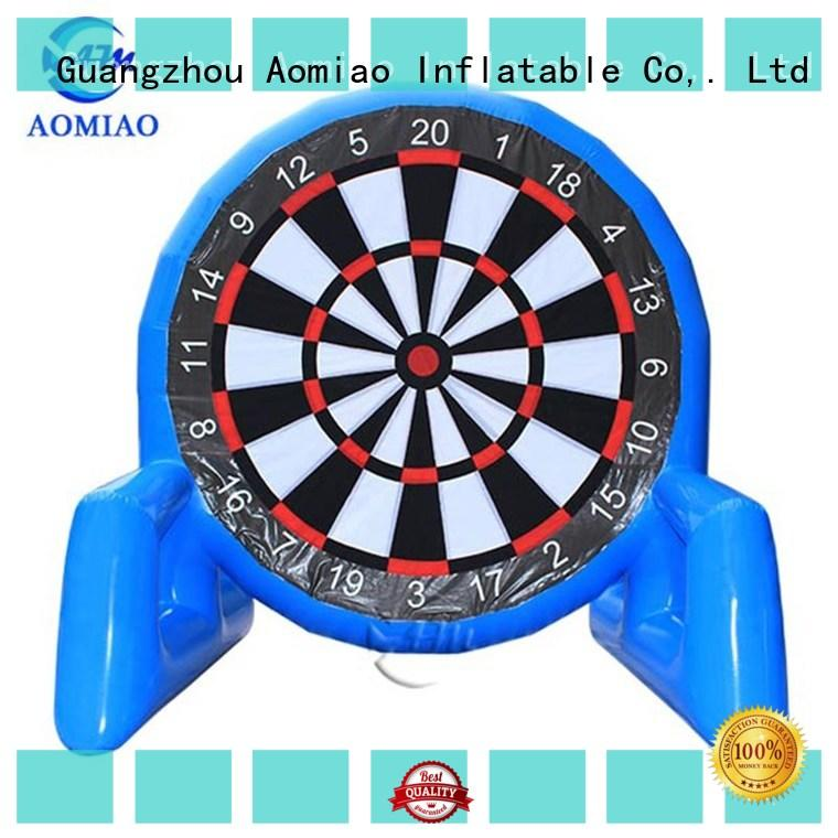 AOMIAO dart Inflatable soccer darts factory for parties
