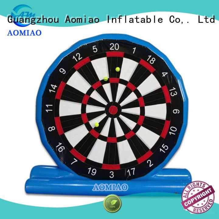 AOMIAO Brand airtight blue dart dart games inflatable