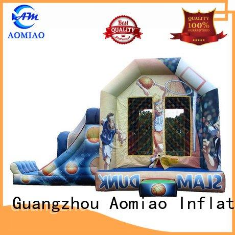 AOMIAO Brand bounce house baby bouncy castle basketball kids