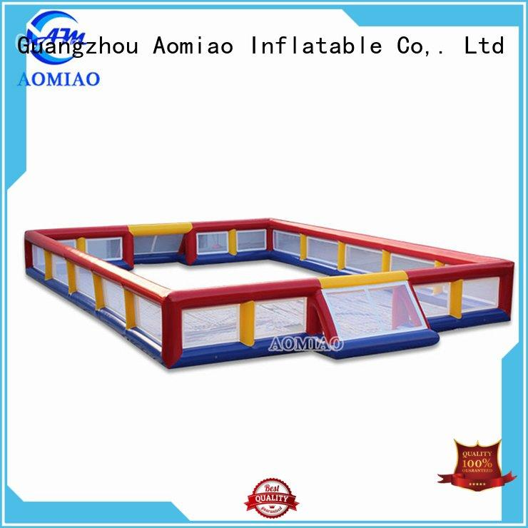 Custom inflatable football field airtight ff1702 inflatable AOMIAO