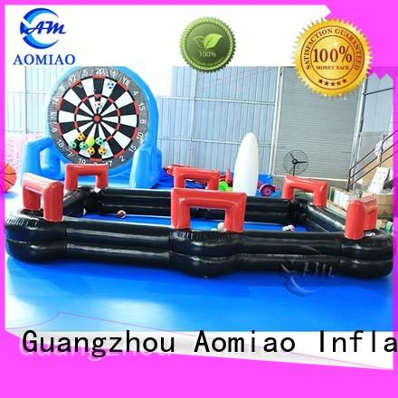 AOMIAO billiards soccer pool table supplier for water park