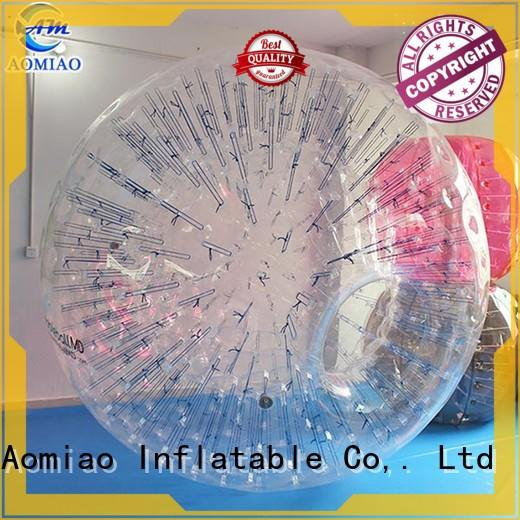 AOMIAO transparent best zorb ball customization for theme park