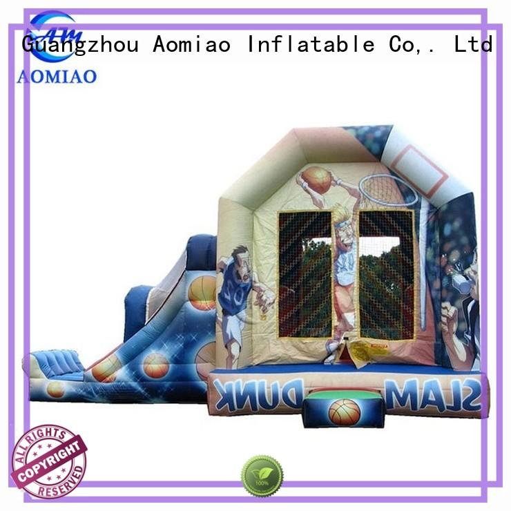 AOMIAO dog bouncy castle and slide factory for sale
